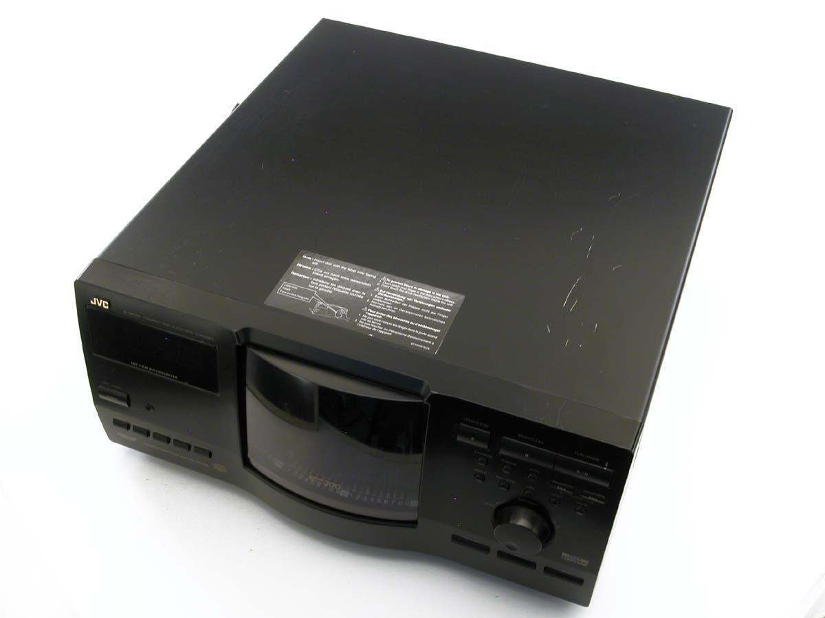 Jvc 2disc cd player