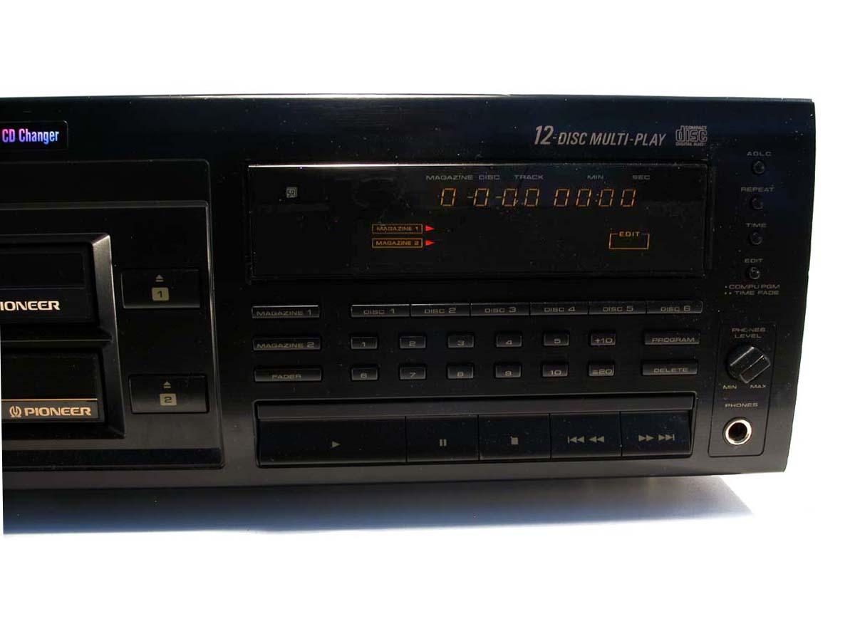 pioneer 12 disc cd changer manual
